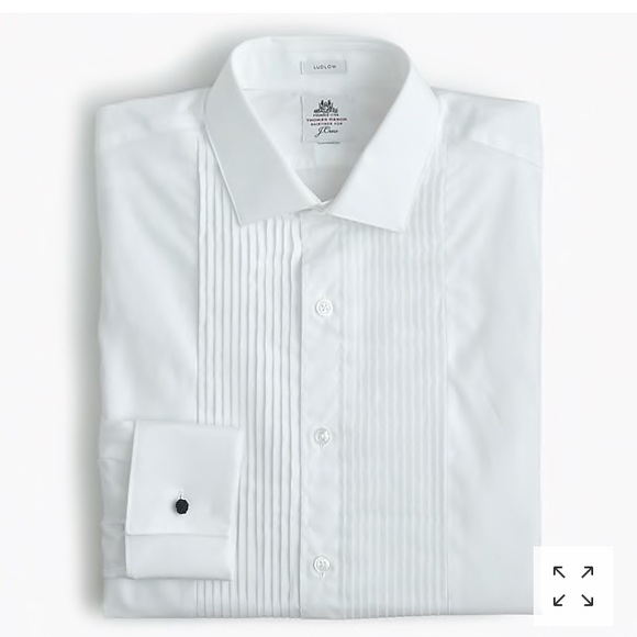 Thomas Mason for J.Crew slim-Fit tuxedo Shirt 11151beca